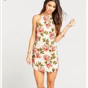 Show me your mumu floral traveler dress